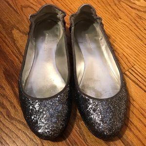Ann Taylor Glitter Flats